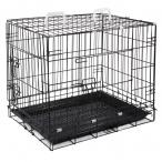 Клетка 003-2K для животных c 2 дверцами, эмаль, 770*560*640мм