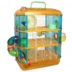 Клетка 31003A для мелких животных с переходами, эмаль, 400*260*530мм