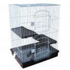 Клетка C5-1 для мелких животных, черная, 610*460*770мм