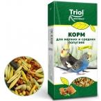 Корм Тriol Standard для мелких и средних попугаев с мёдом, 500г