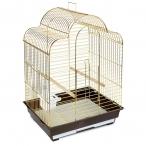 Клетка 1301G для птиц, золото, 520*410*710мм