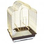 Клетка 6113G для птиц, золото, 465*360*650мм