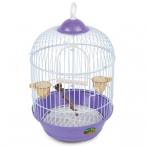 Клетка 23A для птиц круглая, эмаль, d230*375мм
