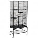 Клетка 5005 для птиц, эмаль, черная, 810*470*1760мм