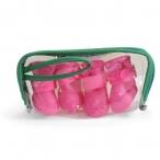 YXS200 L Сапожки для собак розовые, 55*45*55мм