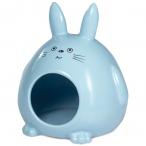 """Домик для мелких животных керамический """"Кролик"""", 130*115*145мм"""