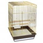 Клетка 1302G для птиц, золото, 520*410*590мм