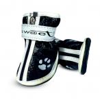 """YXS083-0 Ботинки для собак черные с """"лапками"""" , 40*30*40мм"""