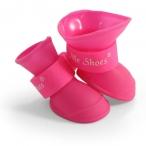 YXS200 S Сапожки для собак розовые, 40*30*40мм