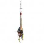 """Игрушка для птиц """"Бусины на веревочке"""", 210*60мм"""