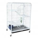 Клетка C2-1W для мелких животных, белая, 640*435*925мм