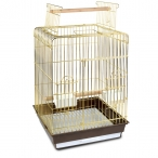 Клетка 1038AG для птиц, золото, 475*475*860мм