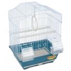 Клетка 2112A для птиц, эмаль, 300*230*390мм