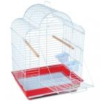 Клетка 800-1 для птиц, эмаль, 520*410*700мм