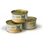 Корм Brit Care TunaCarrot&Pea (влажный) для кошек, тунец, морковь и горошек, 80 г