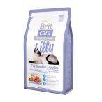 Корм Brit Care Lilly Sensitive Digestion (беззерновой) для кошек с чувствительным пищеварением, с ягненком и лососем, 2 кг