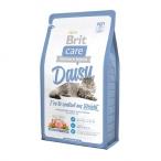Корм Brit Care Daisy для кошек, склонных к излишнему весу, с индейкой и рисом, 2 кг