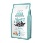 Корм Brit Care Missy for Sterilised для стерилизованных кошек, с курицей и рисом, 2 кг