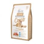 Корм Brit Care Cocco Gourmand (беззерновой) для привередливых кошек, с уткой и лососем, 2 кг