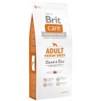 Корм Brit Care Adult Medium Breed Lamb&Rice для собак средних пород, ягненок с рисом, 12 кг