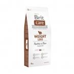 Корм Brit Care Weight Loss Rabbit&Rice для собак с избыточным весом, кролик с рисом, 1 кг