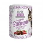 Лакомство Brit Care Superfruits Salmon с лососем, 100 г