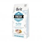 Корм Brit Fresh Fish&Pumpkin Adult Large Muscles&Joints для собак крупных пород, мышцы и суставы, с рыбой и тыквой, 2,5 кг