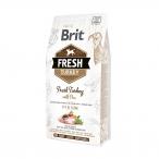 Корм Brit Fresh Turkey&Pea Adult Fit&Slim для собак с низкой активностью или избыточным весом (стройная форма), с индейкой и горошком, 2,5 кг