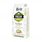Корм Brit Fresh Duck&Millet Adult Run&Work для активных собак, утка с пшеном, 2,5 кг