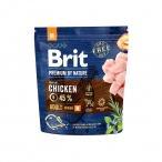 Корм Brit Premium Adult M для собак средних пород, 1 кг
