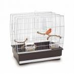 Имак клетка д/птиц IRENE 2, коричневый, 45х27х43см (03305)
