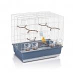 Имак клетка д/птиц IRENE 4, оцинк./коричневый, 59х38х56см (03605)