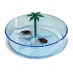 Имак бассейн д/черепах пластик. круглый TURTLE HYDRA, ф22х6,5см (56299)