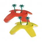 Имак остров д/черепах пластик. TURTLE BEACH, 32х27,5х7,5см (56696)
