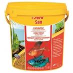 Сера Корм для рыб основной в хлопьях SAN 10 г (пакетик) (улучшает окраску) (S0242)