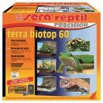 Сера BIOTOP REPTIL TERRA 60 террариум 60x60x45cм, грунт, цифровой замок, гидрометр-термометр (S32000