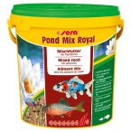 Сера Корм для прудовых рыб MIX ROYAL 21 л 3,5 кг (ведро) (S7108)