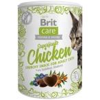 Лакомство Brit Care Superfruits Chicken для кошек, с курицей, 100 г