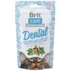 Лакомство Brit Care Dental для кошек, для очистки зубов, 50 г