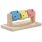 """Triol LITTLE TOWN игрушка для мелких животных """"Кубики"""", 140 мм"""