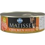 Корм Farmina Matisse Chicken Mousse (мусс) для кошек с курицей, 85 г