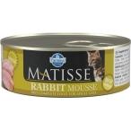 Корм Farmina Matisse Rabbit Mousse (мусс) для кошек с кроликом, 85 г