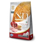 Корм Farmina N&D (Low Grain) Chicken & Pomegranate Puppy для щенков с низким содержанием зерна, курица с гранатом, 12 кг