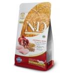 Корм Farmina N&D (Low Grain) Chicken & Pomegranate Neutered для стерилизованных кошек с низким содержанием зерна, курица с гранатом, 1,5 кг