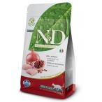 Корм Farmina N&D Chicken & Pomegranate Adult беззерновой для взрослых кошек курица с гранатом, 1,5 кг