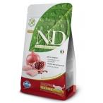 Корм Farmina N&D Chicken & Pomegranate Neutered беззерновой для стерилизованных кошек курица с гранатом, 1,5 кг