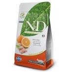 Корм Farmina N&D Fish & Orange Adult беззерновой для взрослых кошек рыба с апельсином, 1,5 кг