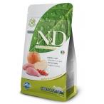 Корм Farmina N&D Boar & Apple Adult беззерновой для взрослых кошек кабан с яблоком, 1,5 кг