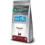 Корм Farmina Vet Life Hepatic для кошек при заболевании печени, 2 кг