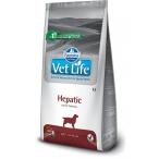 Корм Farmina Vet Life Hepatic для собак при заболеваниях печени, 12 кг